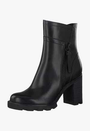 Classic ankle boots - black antic