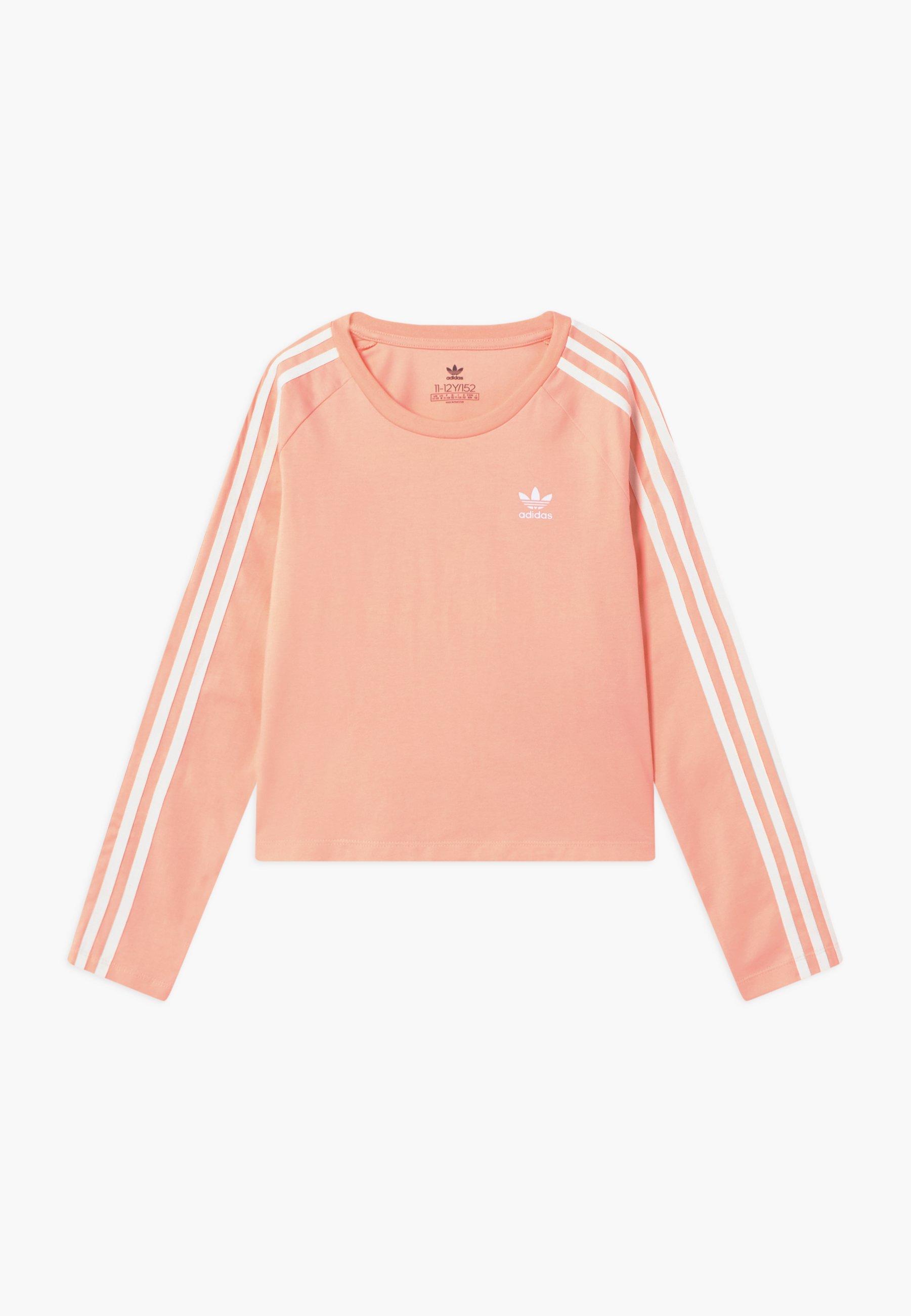 Große Förderung adidas Originals 3 STRIPES - Langarmshirt - hazcor/white | Damenbekleidung 2020