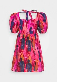 Never Fully Dressed Petite - WHO RUN THE WORLD MINI DRESS - Korte jurk - pink - 8
