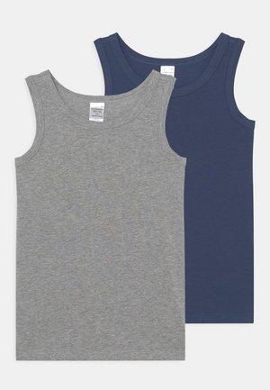 ORGANIC COTTON TEENS 2 PACK - Undershirt - blue