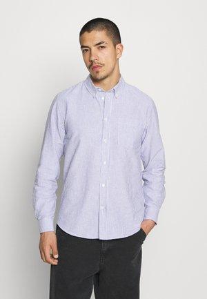 ADAM OXFORD - Košile - dark blue/white
