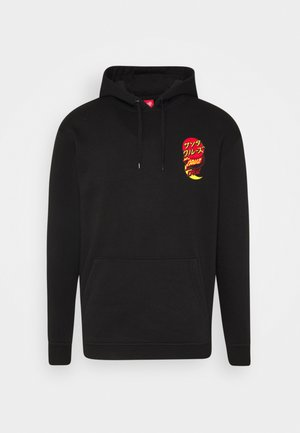 DOT GROUP HOOD UNISEX - Mikina s kapucí - black