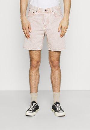 NEWEL PARKLAND - Jeans Short / cowboy shorts - dusty brown worn washed