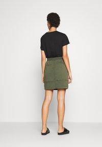 comma casual identity - Mini skirt - green - 2