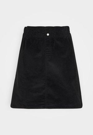 JUDO PAPERBAG SKIRT  - A-line skirt - black