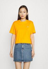 Fila - EARA TEE - T-shirt basic - flame orange - 0