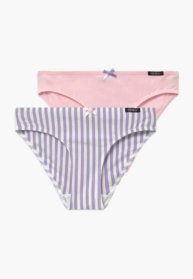 GIRLS RIO 2 PACK - Kalhotky - purple/white