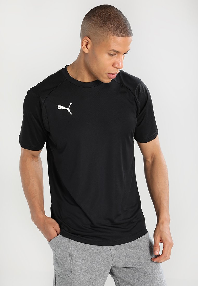 Puma - LIGA  - Sports shirt - puma black/puma white