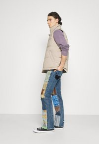 Jaded London - REWORKED PATCHWORK  - Jean bootcut - blue - 3