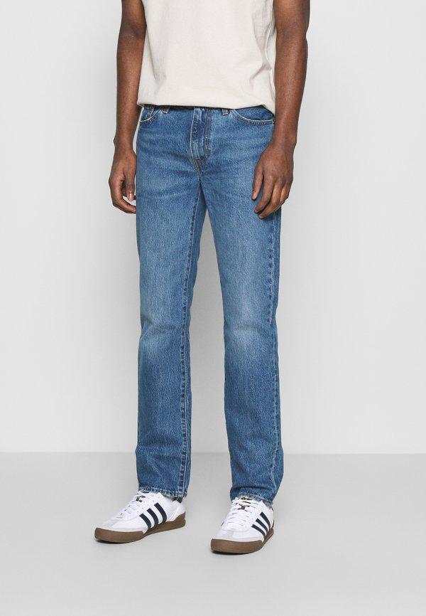 Levi's® 511™ SLIM - Jeansy Slim Fit - med indigo/flat finish/jasnoniebieski Odzież Męska GKUJ