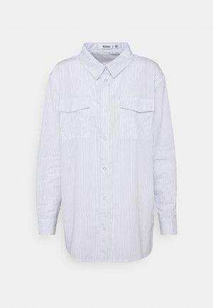 STRIPE POCKET DETAIL  - Blouse - white