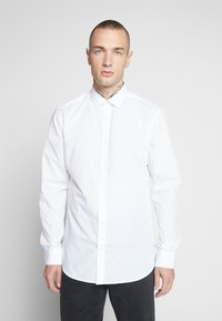 Only & Sons - ONSSANE SOLID POPLIN - Shirt - white - 0