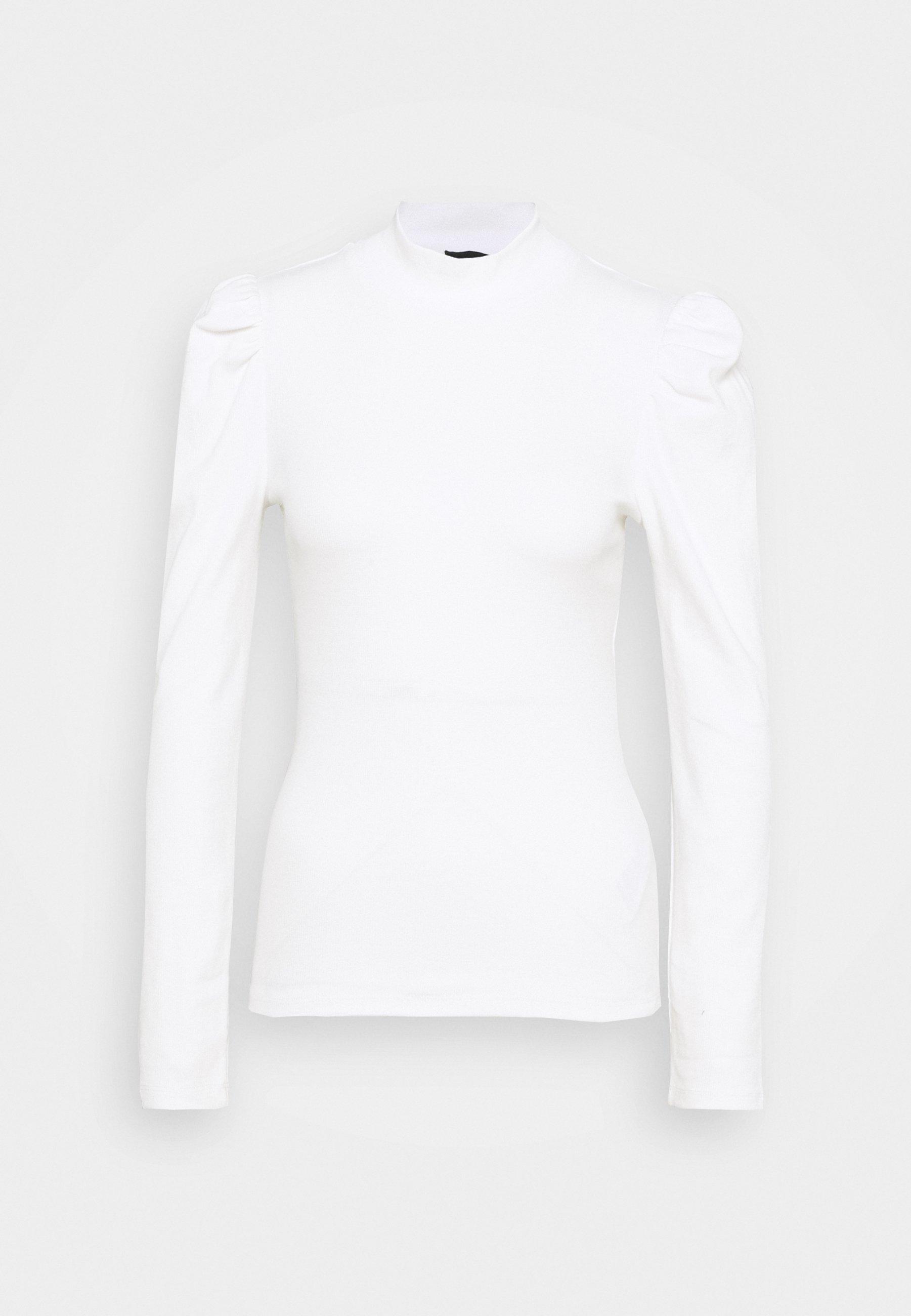 PIECES Pcsiri LS Top Noos Camisa Manga Larga para Mujer