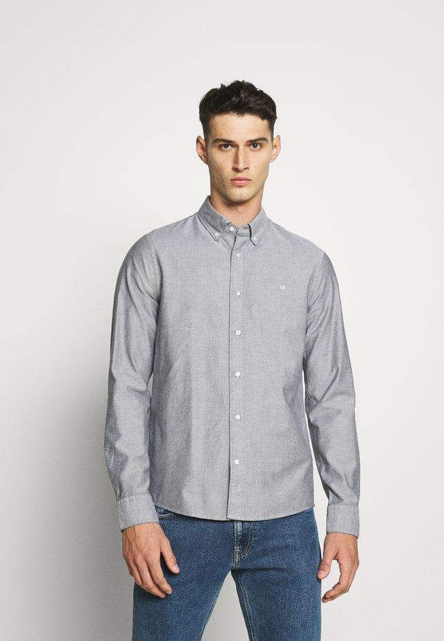 SLIM FIT - Camicia - black