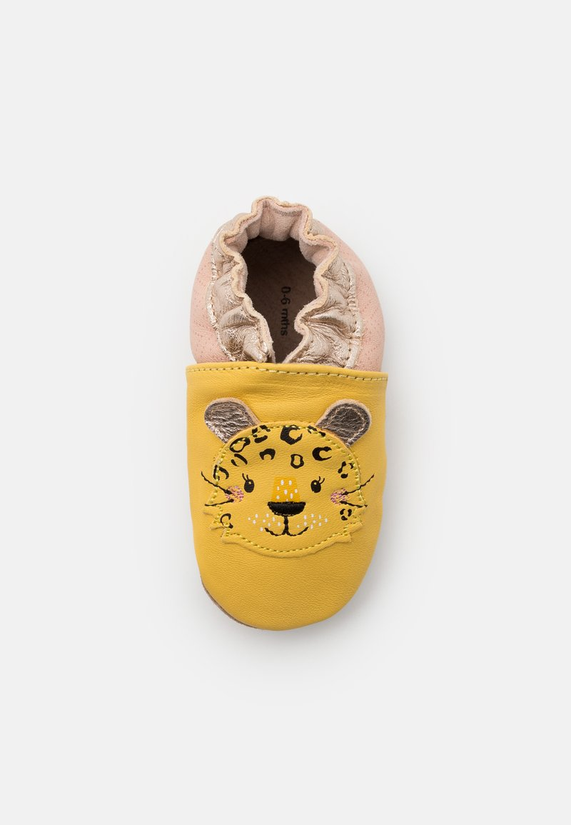 Robeez - LEOPARDO - First shoes - jaune