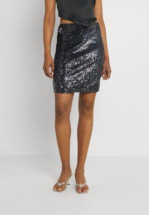 LADIES SKIRT - Mini skirt - snake black