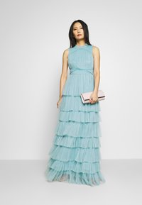 Anaya with love - SLEEVELESS TIERED DRESS - Abito da sera - cornflower blue - 1