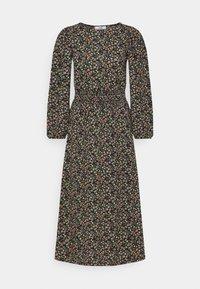 ONLY Tall - ONLZILLE SMOCK MIDI DRESS - Day dress - black - 0