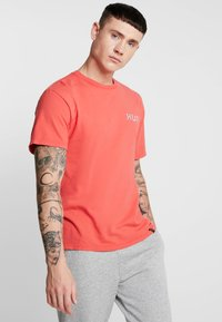 HUF - BONER CLASSIC TEE - Print T-shirt - cayenne - 2