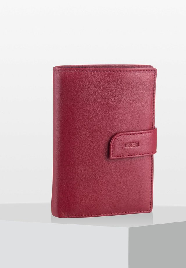 LYNN - Wallet - brick red
