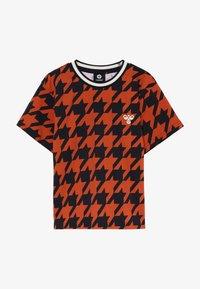 Hummel - Print T-shirt - burnt brick - 2