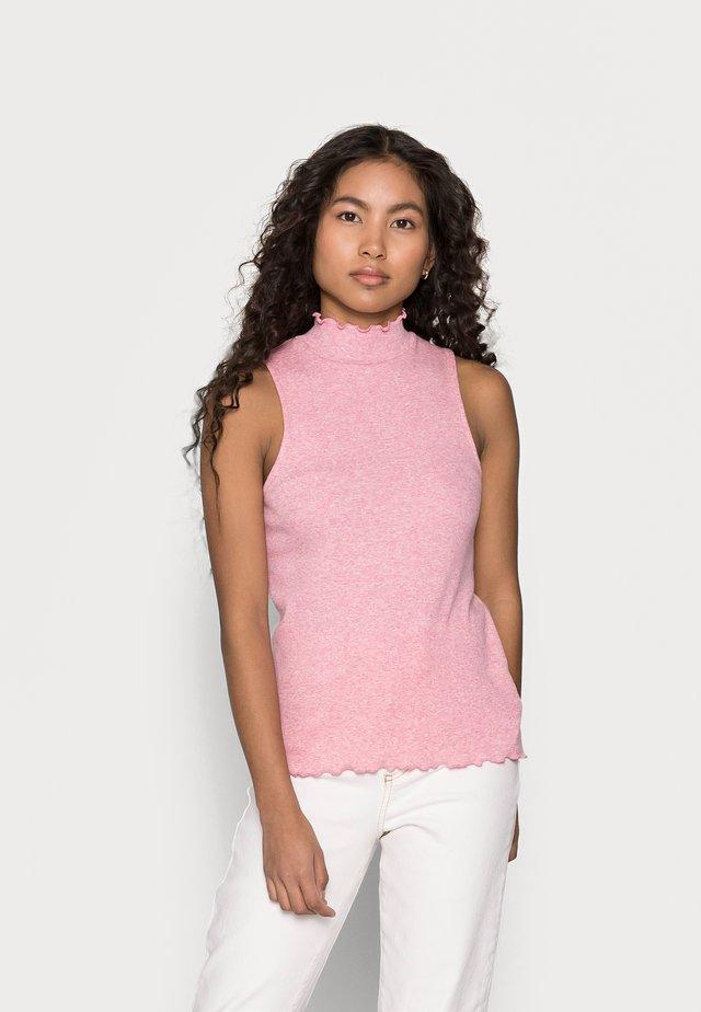 TANK - Topper - pink standard