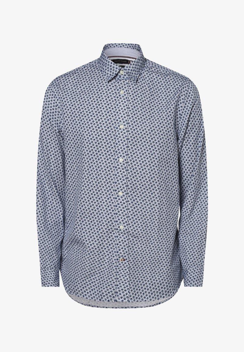 Tommy Hilfiger - Formal shirt - marine weiß