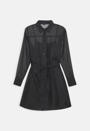 LIZA DRESS EXCLUSIVE - Košilové šaty - black