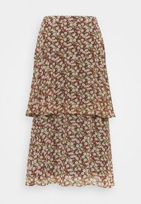 Esprit - FLUENT - A-line skirt - navy - 1