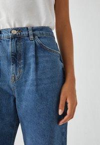 PULL&BEAR - Jeans Straight Leg - blue denim - 3