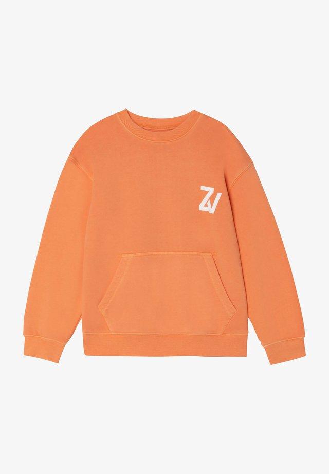 Sweater - nectarine