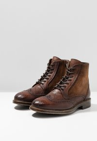 Giorgio 1958 - Lace-up ankle boots - brown - 2