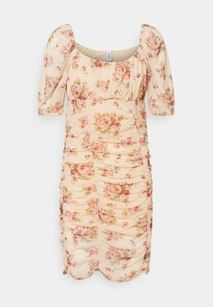 ONLCINDY - Day dress - beige/bouquet