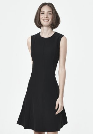 SANDRA FLARED - Day dress - black