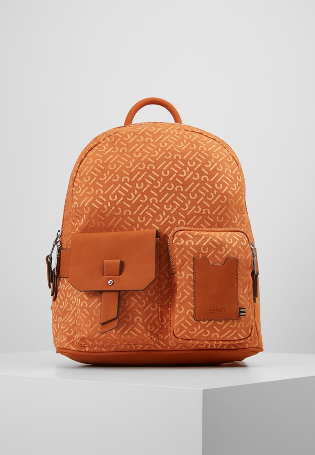 COY BACKPACK - Rucksack - burnt orange