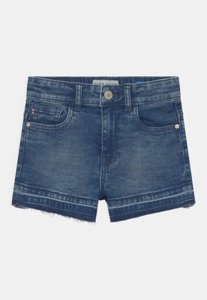 HAWA  - Jeansshort - blue denim