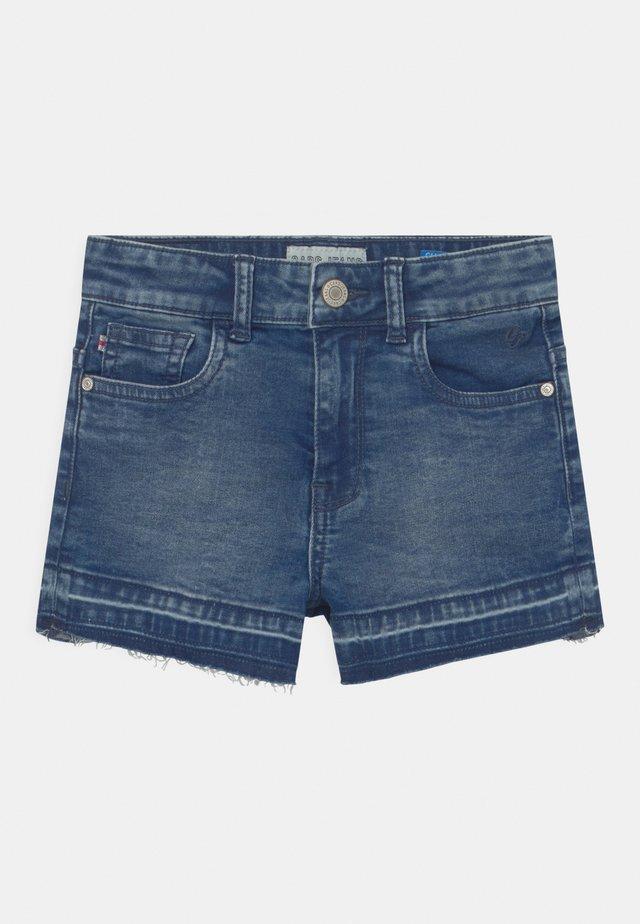 HAWA  - Short en jean - blue denim