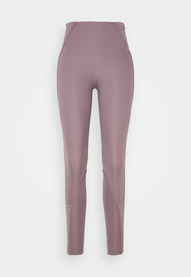 ONE LUX 7/8 LACING - Leggings - purple smoke/clear