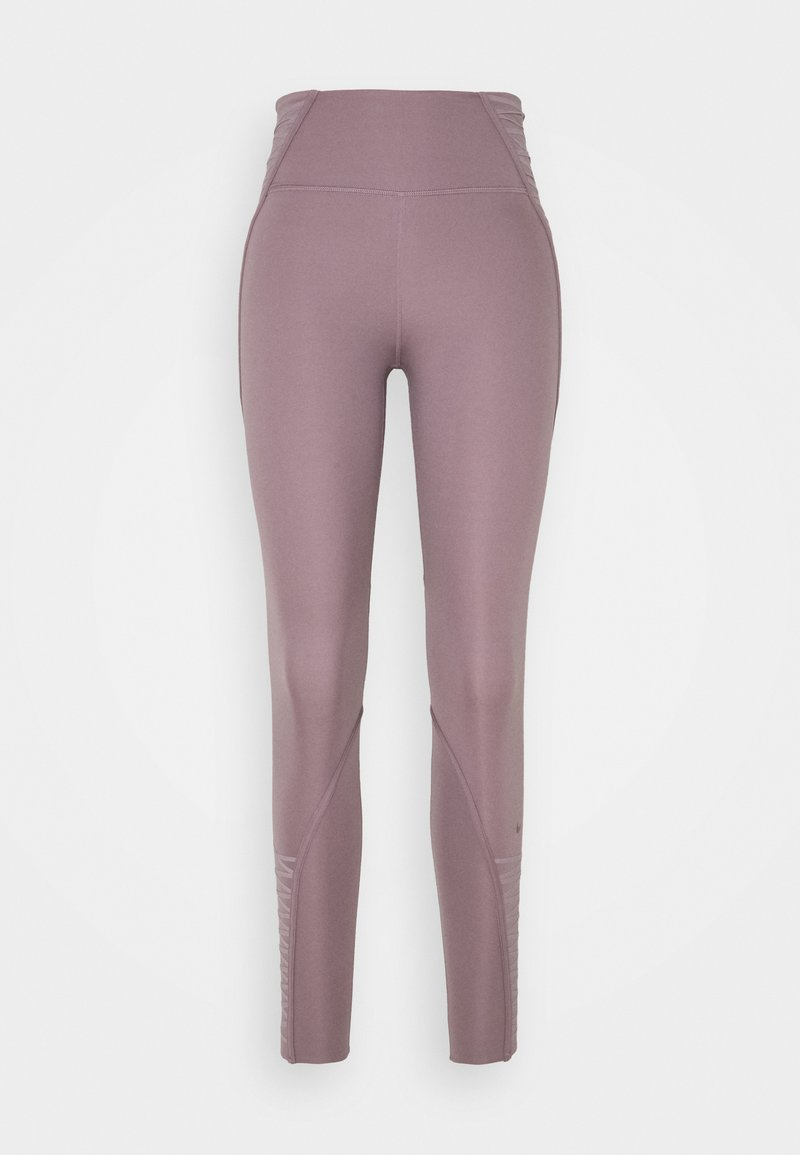 Nike Performance - ONE LUX 7/8 LACING - Tights - purple smoke/clear
