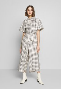 CMEO COLLECTIVE - INHALE - Overall / Jumpsuit /Buksedragter - cream/black - 0