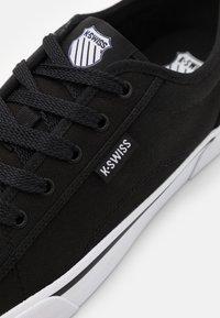K-SWISS - PORT - Tenisky - black/white - 5