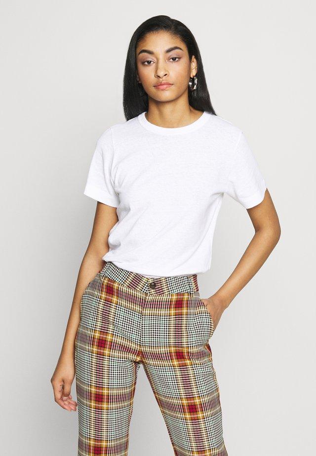 CYRIL - T-shirt con stampa - blanc