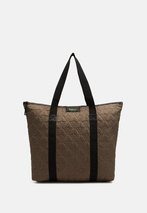 GWENETH DECOR BAG - Tote bag - chocolate chip