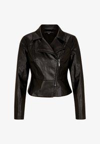 comma - Faux leather jacket - black - 5