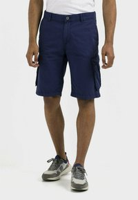 camel active - REGULAR FIT - Shorts - indigo - 0