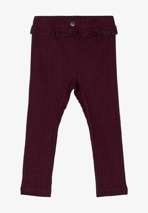 Pantalon classique - italian plum
