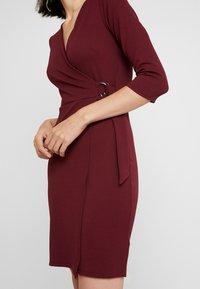 Dorothy Perkins - WRAP DRESS - Sukienka etui - purple - 6