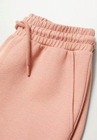 Mango - Tracksuit bottoms - rose pastel - 5