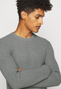 Theory - PHANOS CREW - Pullover - grey heather - 5