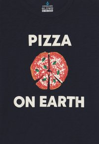 J.CREW - PIZZA ON EARTH - Long sleeved top - dark blue - 3